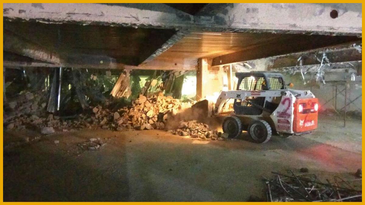 Demolish Vallet Parking Level The Garden Mid Valley City Jing Sheng Construction Engineering